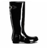 Hunter Regenlaars original wellington adjustable gloss black zwart
