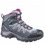 Salomon Wandelschoen authentic ltr gtx w pearl grey mystic grijs