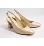 Cervone 1132 pumps open hiel beige