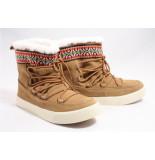 TOMS 10010904 alpine toffee boots plat cognac