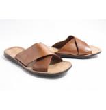 Brador 46-510 slippers cognac