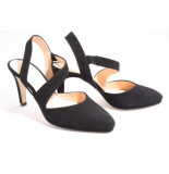 Barnello 3200 nero pumps open hiel zwart