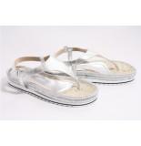 Vitti Love 4228 plata silver sandalen zilver