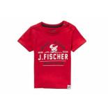 Jake Fischer Shirt korte mouw nando 823155-01 rood