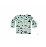 Your Wishes Longsleeve minty hippo mint groen