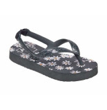 Reef Slipper escape daisy zwart