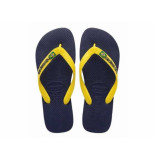 Havaianas Slipper brasil logo geel