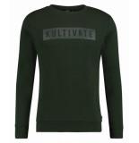 Kultivate 1801031000 165 sweater kltvaded acacia groen