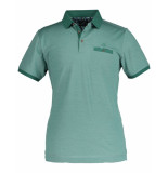 State of Art Polo two coloured polo green groen