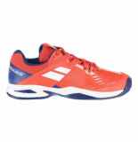 Babolat Tennisschoen propulse clay junior bright red estate blue rood