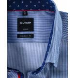 Olymp Overhemd luxor button-under marine blauw
