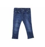 Beebielove Spijkerbroek girls skinny fit denim blauw