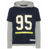 Name It Nmmnaron ls top w hood blauw