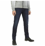 PME Legend Ptr985 dbs commander 2 dark blue stretch denim blauw