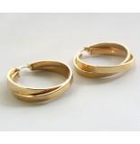 Christian 14 karaat gouden creolen geel goud