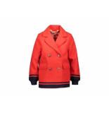 NoNo Wollen jacket + sjaal bella rood