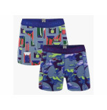 Muchachomalo Boxer 2-pack life is a journey multi