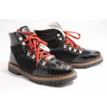 Ammann 8059 boots plat zwart