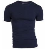 Garage Bodyfit t-shirt r-neck navy blauw