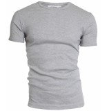 Garage Semi bodyfit t-shirt r-neck grey mÁƒÂªlÁƒ©e grijs