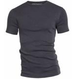 Garage Semi bodyfit t-shirt r-neck anthra mÁƒÂªlÁƒ©e grijs
