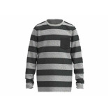 Jumping The Couch Longsleeve streep grijs