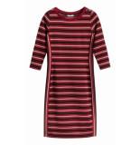 Sandwich 23001458 21027 jurk jersey medium brick red rood