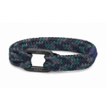 Pig & Hen P24-63579 pig&hen armband limp lee | ocean camo | black