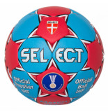 Select Match soft handball 02868 rood