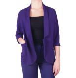 Dixie Giacca blazer purple paars