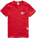 G-Star Graphic 5 pocket t-shirt rood
