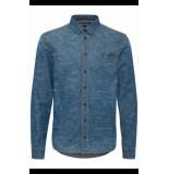 Blend Overhemd blauw
