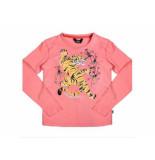 Little Miss Juliette Longsleeve tijger elvy roze