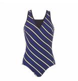 Tweka Swimsuit soft cup 039056 blauw