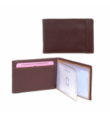 dR Amsterdam Creditcard-etui Cognac One size