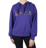 Dixie Felpa sweatshirt paars