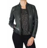 Gipsy Sashi leather jacket groen