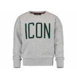 Vingino Sweater nakkita boxy fit melee grijs