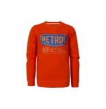 Petrol Industries Sweater crewneck logo orange ora oranje