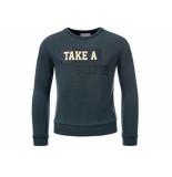 Looxs Revolution Sweater take a selfie blauw
