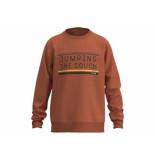 Jumping The Couch Sweater logo jtc orange oranje