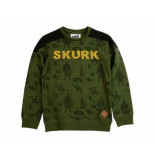 Skurk Sweater sarrior leger groen