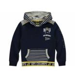 Quapi Hooded sweater lanvin navy blauw