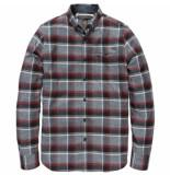 Vanguard Vsi186492 8204 long sleeve shirt check kefington hall decadent chocolate grijs