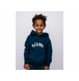 Cheaque Hooded sweater a'je teau navy blauw