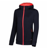 Sjeng Sports Ss lady hooded jacket gabalai plus 037971 zwart