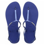 Havaianas Slipper you riviera marine blue blauw