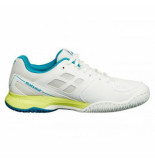 Babolat Tennisschoen pulsion all court women white blue wit