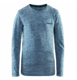Craft Turquoise thermo shirt active comfort rn ls groen