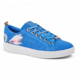 Ted Baker Eryin blue harmony suede blauw